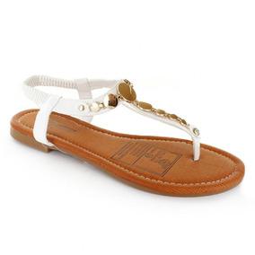 Sandalia Para Mujer Furor 11179-040660 Color Blanco