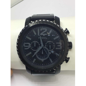 Relógio Fossil Masculino - Preto Fosco Jr1401 100% Original