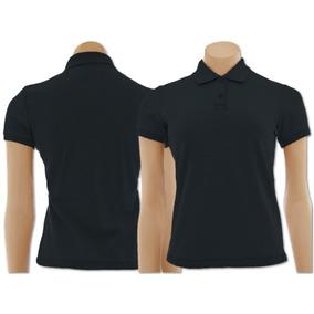 Kit+camisa+polo+feminina - Pólos Manga Curta Femininas Preto no ... fd0a12592a910