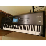 Korg Kronos 73 Key Keyboard & Swan Flight Case.