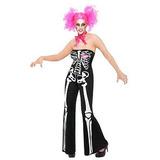 Sassy Para Mujer Sexy Disfraz Adulto Esqueleto Traje Y 0a150eed1a3