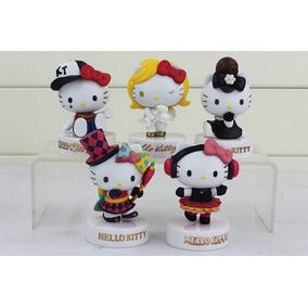 Set 5 Figuras Grandes 8 Cm De Hello Kitty De Coleccion Pvc