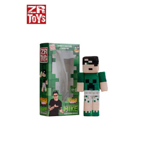 Boneco Tazer Craft Mike Articulado Youtuber Zr Toys