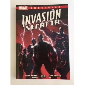 Cómic, Marvel, Excelsior: Invasión Secreta. Ovni Press