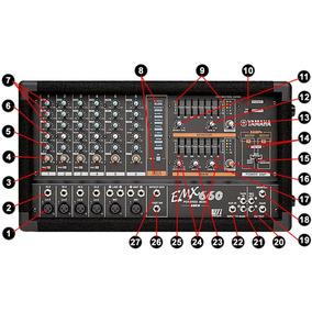 Amplificador Yamaha Emx660