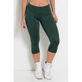 Lindissimo Conjunto Top E Calca Legging Verde Piscina - Calçados ... 9da18b48944