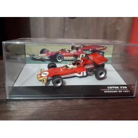 1/43 Miniatura Lotus Fittipaldi Lendas Brasileiras 1971