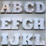 Letras Decorativas Luminosas Led Mdf Para Fiestas Cumpleaño,