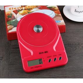 Bascula Gramera 1g A 10kg Para Cocina Colores De Lujo 10 Kg
