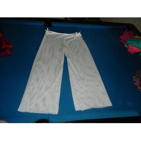 Pantalon Playero Para Damas Blanco - Ropa 715f59111b60