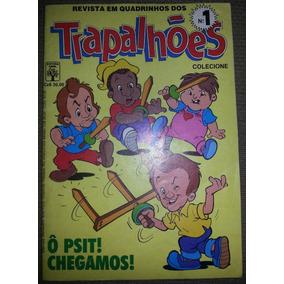 Gibi Trapalhões Nº 1 Editora Abril 1988 Com Trapaposters