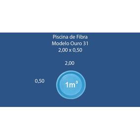 Piscina Em Fibra 1000 Litros Piscinas No Mercado Livre Brasil