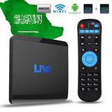 Recibidor Iptv En Vivo Box 1500+ Canales Globales De...