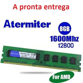 Memória Atermiter 8gb Ddr3 1600 Ghz A Pronta Entrega.