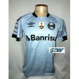Camisa Oficial Grêmio Game Libertadores 2017  7 Luan d28af468a894e