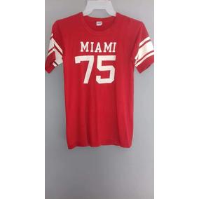 Playera Champion Vintage De 1975 Original Antigua 70s Miami
