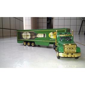 Caminhão Carreta Bau Miniatura Escala 1/87 Nr. 730