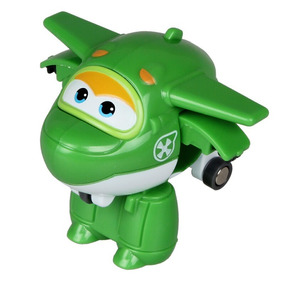 Transformador Auldey Jerom - Super Wings Series Mini T Green