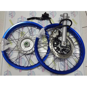 Jogo Roda Aluminio Cg 125/fan150/mix Kit Disco 2000/13