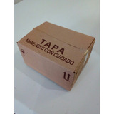 Caja Para Embalaje L-003 16x12x8 Cm Cartón Corrugado