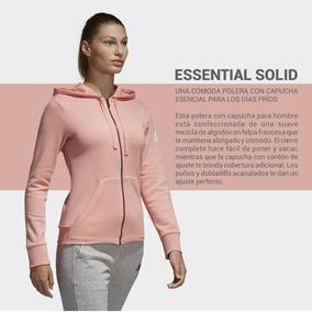 Campera Canguro adidas Essentials Solid De Dama