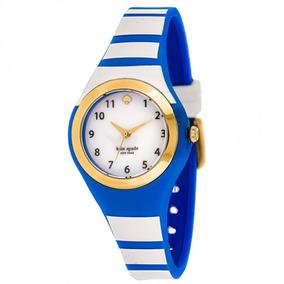 Reloj Dama Kate Spade Rumsey Silicón Original