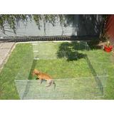 Corral Para Perros,conejos,gatos Grande Y Reforzado