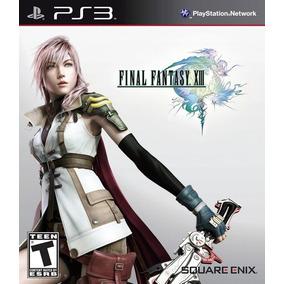 Jogo Final Fantasy Xiii 13 Playstation 3 Ps3 Mídia Física