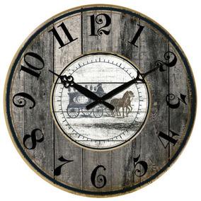 Reloj Antiguo De La Pared Rustic Large Art Home Decor Reloj