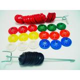 Kit 3 Mil Lacres Para Sacolas Plásticas Mais 2 Aplicadores