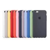Kit 10 Piezas Funda Silicon iPhone 6 6s Plus 7 8 X Xr Xs Max