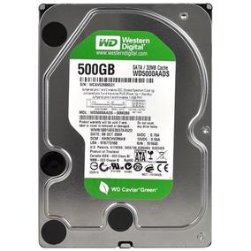 Hd 500gb Western Digital Sata 3gb/s Green Pc Dvr Novo!!