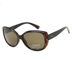 dbfc09fbf33c6 Oculos De Sol Feminino Marrom Polaroid - Óculos no Mercado Livre Brasil