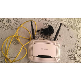 Router Tp Link Dos 2 Antenas Tl Wr841n Alcance 300mbps