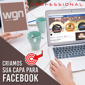Capa Profissional Para Facebook! Fanpage, Identidade Visual