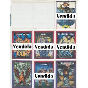 Tarjetas Monstruos De Bolsillo Sonric