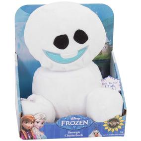 Peluche Electrónico Copo De Nieve Frozen Disney