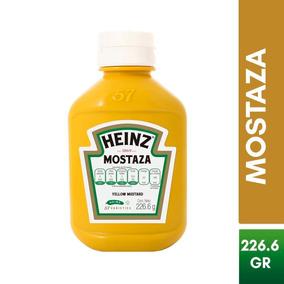 Mostaza Amarilla Frasco 226g Heinz