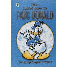 Pato Donald 80 Anos. Disney Capa Dura. Novo. Frete Grátis !