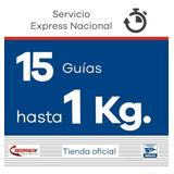 15 Guías Redpack Prepagadas, Express 1 Kg $224.24 X Guía