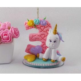 Vela Unicornio Biscuit, Festa Unicornio,3 Anos