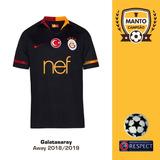 Camisa Galatasaray Turquia Uniforme 2 - Camisas de Times de Futebol ... e46fbb0917584