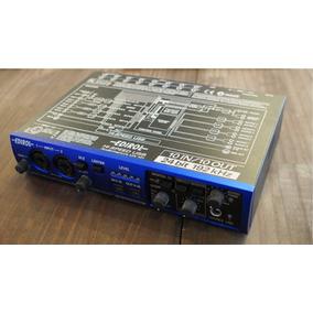 Interface Placa De Áudio 10 Canais Usb Edirol Ua-101