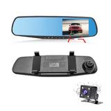 Espejo Retrovisor Camara Retroceso Frontal Auto Full Hd - Sd