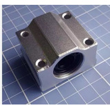 Pillow Block Com Rolamento Linear 12mm Cnc/fresadora/router