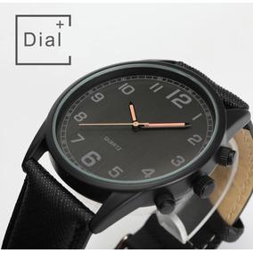 Reloj Para Hombre Moda 2019 Casual Color Negro, Envío Gratis
