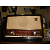 Radio Antigo Da Marca Philips,modelo Bx555a,holandes