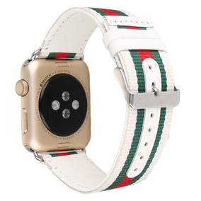 42mm - Sport Nylon Stripe   Leather(white) - Genuino Cu-6509 por Ebay 4dea5dcd508