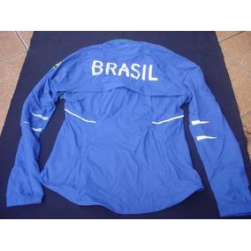 7e3b47ec64 Jaqueta Nike Dry Fit Brasil Seleçao Atletismo Oficial Fem P