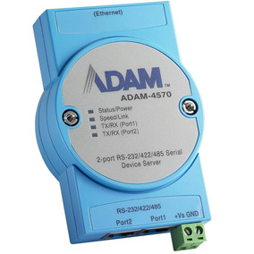Advantech Adam-4570 2-port Rs-232/422/485 Serial Device Serv